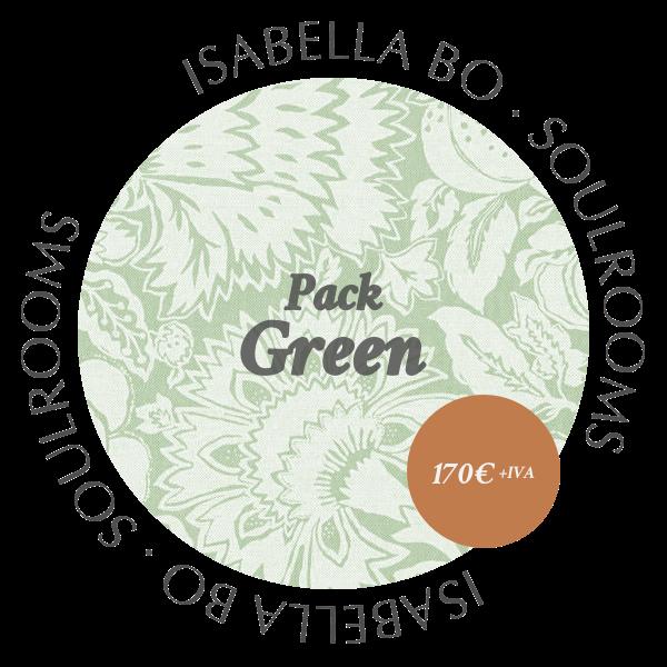 Isabella Bo · Asesoría Deco · Pack Green